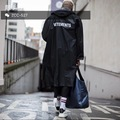Vetements 16 ss OVERSIZE GD with long dust coat Waterproof raincoat coat lovers