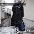 Vetements 16 ss OVERSIZE amantes GD com longa capa de chuva casaco de revestimento de poeira À Prova D' Água
