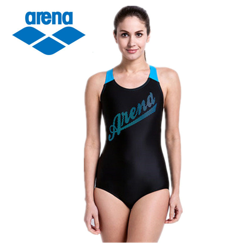 ФОТО Arena 2017 Brand Professional Training Women One Piece Swimsuit Hot Spring Swimming Bodysuit  Bathing Suit Summer Swimwear