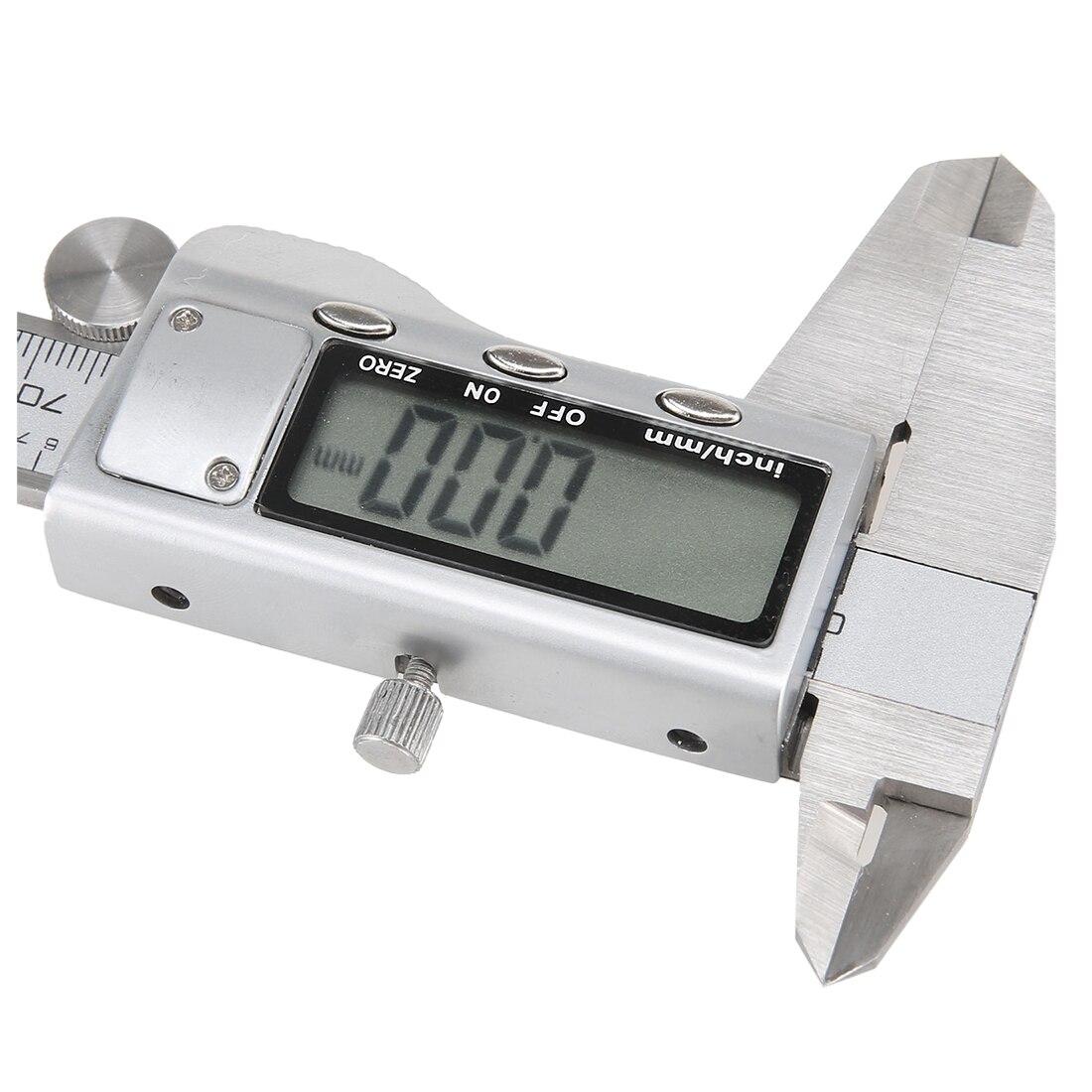 Dsha Heißer Verkauf 150mm 6 lcd Digitale Messschieber Elektronische Noniuslehren-mikrometer Präzision Werkzeug Silber Werkzeuge