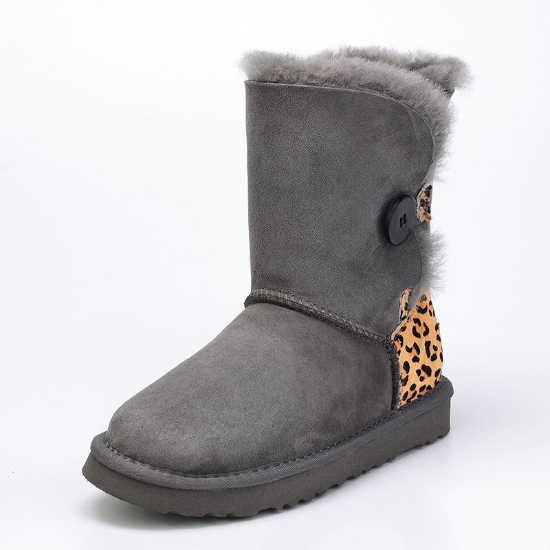 High quality, sheep skin, wool, one snow boots female winter flat bottomed buckle with warm boots, free shipping ubz women snow boots australia sheepskin wool snow boots female winter flat shoes bottomed buckle warm boots botas mujer