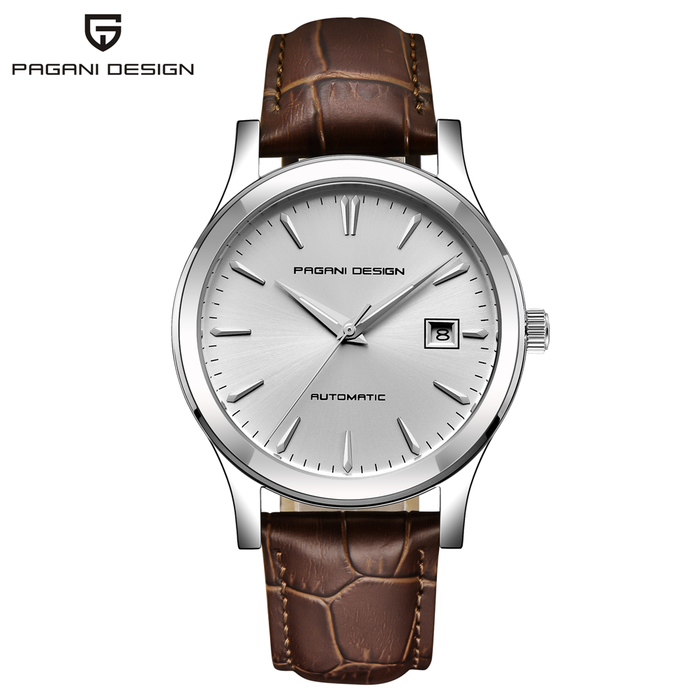 HTB1cE8wKAyWBuNjy0Fpq6yssXXat 2019 new Ultra-thin simple classic men mechanical watches business waterproof watch luxury brand genuine leather automatic watch