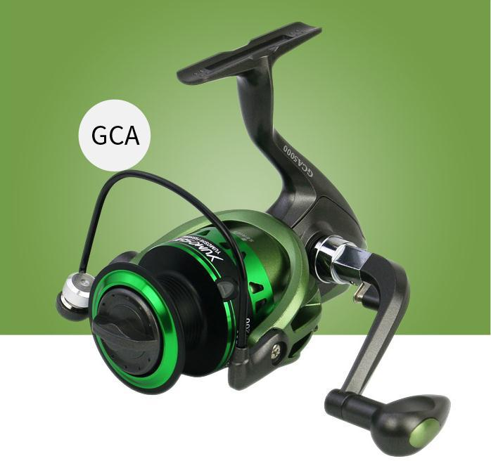 5 5 1 Spinning Wheel Reel Foldable Rocker Fishing Reel in Fishing Reels from Sports Entertainment