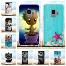 For Samsung Galaxy S9 Cover Soft Silicone For Samsung Galaxy S9 G960F G960U G960W G9600 Case Cute Patterned For Samsung S9 Funda цена и фото