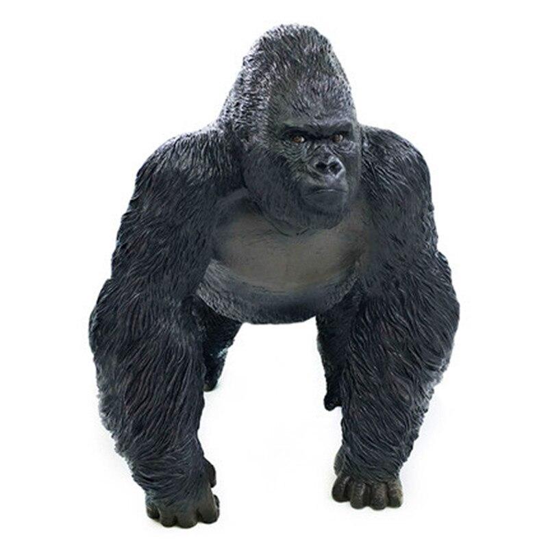 Kong: crâne île Simulation gorille colle souple dessin animé Animal sauvage Action figurine Collection modèle jouet X636 - 4