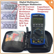HoldPeak Auto Range Digital Multimeter True RMS/ Frequency/ Temperature test and Carry Bag