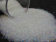 0.6-08mm tiny iridescent fake sugar sprinkles/microbead half ounce/15grams clear glass miniature micro bead marbles nail caviar цена