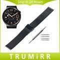 18 мм Миланской Ремешок для Huawei Watch/Fit Honor S1 Asus ZenWatch 2 женщин WI502Q Сетка Из Нержавеющей Стали Группа Браслет ремень