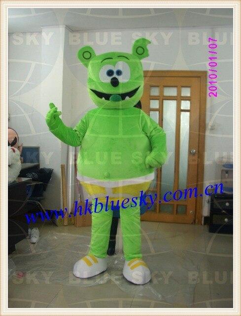 EVA head adult monster costume Gummy Bear mascot costume for sale & EVA head adult monster costume Gummy Bear mascot costume for sale-in ...