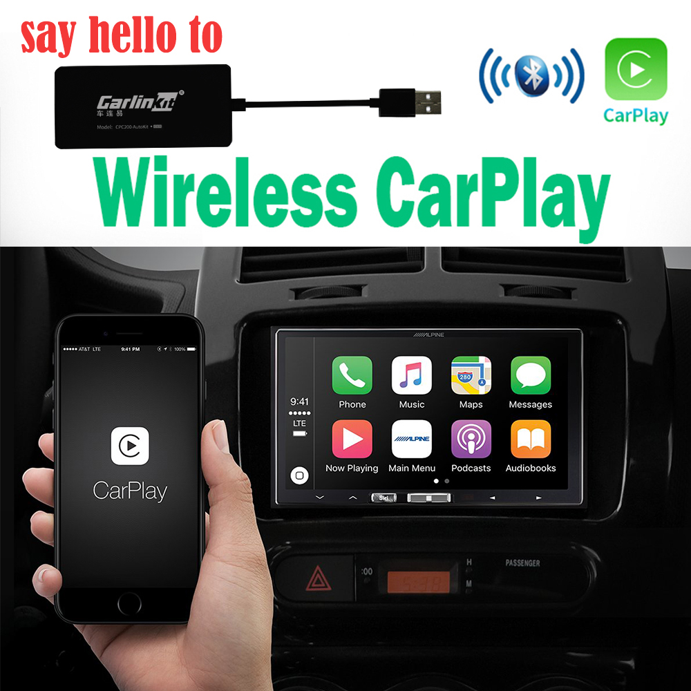 wireless CarPlay Smart Link USB Apple CarPlay Dongle for Android Navigation Player system Stick with Android