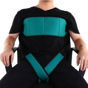 Einstellbare Rollstuhl Sicherheit Harness Ältere Patienten Rollstühle Sitz Gürtel Bein Befestigung Gürtel Bace Unterstützung