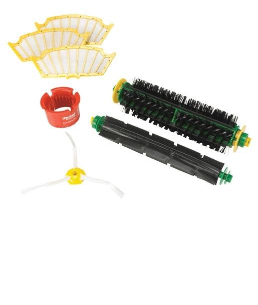 Bristle and Flexible Beater Brush + Side Brush + Filter + Brush Cleaner for iRobot Roomba 500 Series Vacuum Cleaner Accessories. bristle brush flexible beater brush fit for irobot roomba 500 600 700 series 550 650 660 760 770 780 790 vacuum cleaner parts