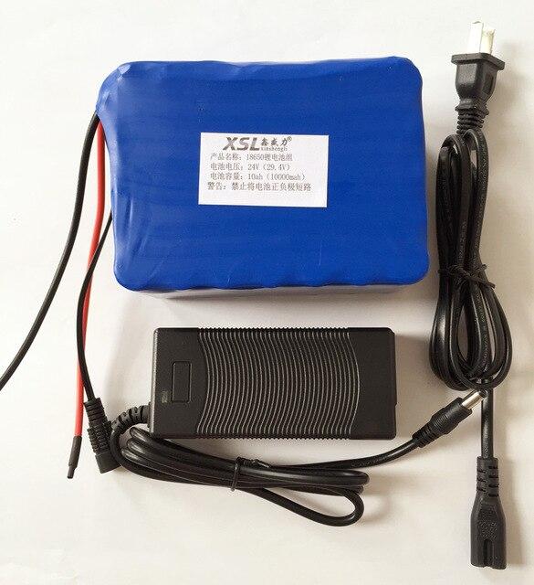 HK LiitoKala 7S5P 24V10 ah bateria 15A BMS BMS 25a 250 w 29.4 v 10000 mah bateria par silla DE ruedas moteur electrico DE pote