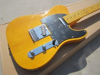 Envío libre American Vintage '52 Telec edad guitarra eléctrica, guitarra TL Natural, cuerpo De Arce y el cabezal de la guitarra telecaster, OEM