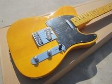Gratis pengiriman Amerika Vintage '52 Telec usia gitar listrik, gitar TL Alam, tubuh Maple telecaster dan headstock gitar, OEM