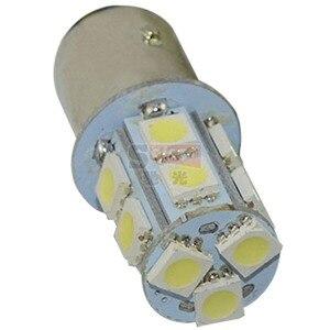 Image 2 - Safego 10 adet P21W 1156 1157 LED dönüş sinyali ampul 5050 13 SMD S25 BAY15D BA15S araba fren park lambaları park lambası 12V beyaz