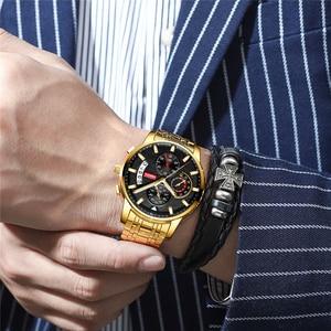 Image 5 - Relojes NIBOSI para hombre, reloj Masculino de marca superior de lujo, reloj deportivo de cuarzo a la moda para hombres, reloj de negocios resistente al agua para hombres