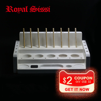 Royal Sissi 1 set Fly tying bench station polymer material portable base station fly tying tools organizers fly craft furniture