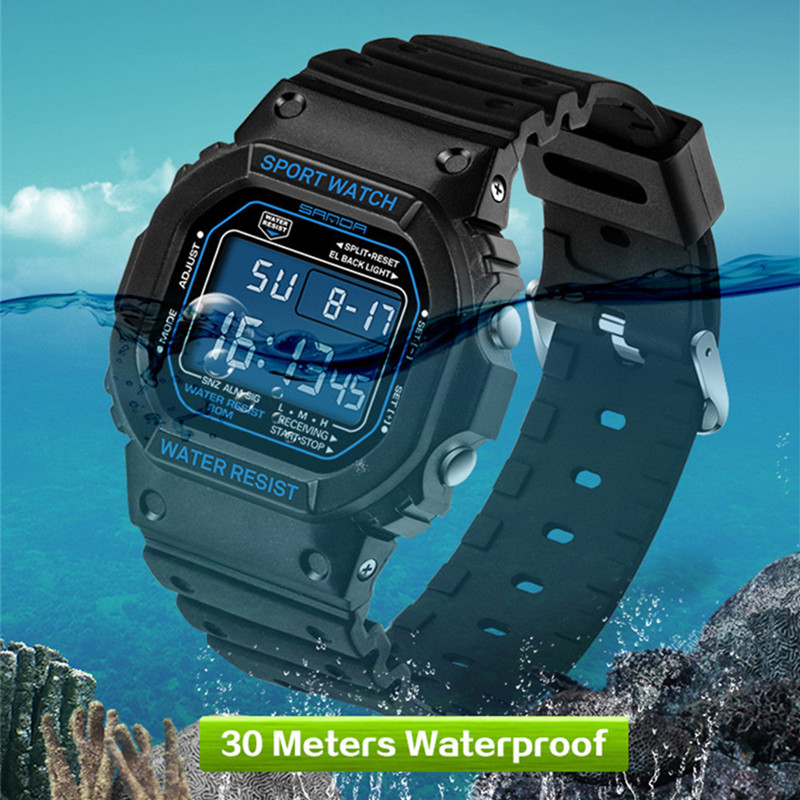 2017 Top Brand SANDA Wrist Watch Men G Style Waterproof Sports Military Watches Shock Men s
