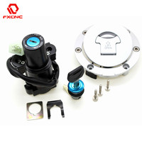 Motorcycle Ignition Switch Lock Fuel Gas Cap Lock And Seat Lock With Keys For Honda CB900 CB 900 919 Hornet 2002 2007 02 03 04