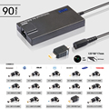 90W Automatic Universal Power Supply For Laptop Notebook Computer 90W  5V2A USB Port For Mobile phone Tablet PC AC DC Charger