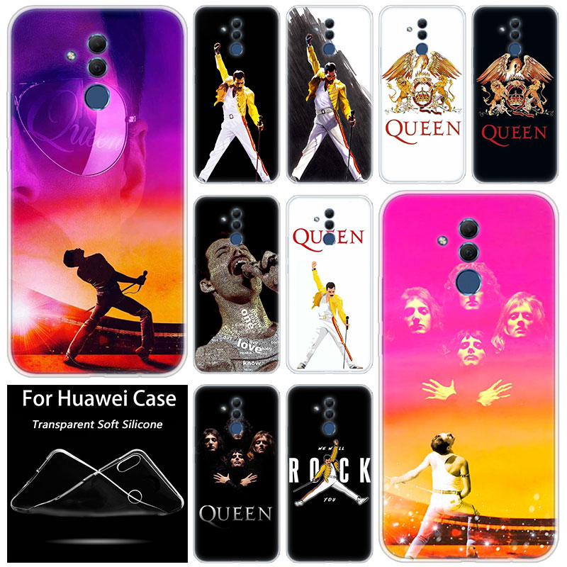Hot Queen Freddie Mercury <font><b>Silicone</b></font> <font><b>Case</b></font> for <font><b>Huawei</b></font> Mate 10 20 Lite Pro <font><b>Y7</b></font> Y9 Prime 2019 Y5 2019 Y6 Prime <font><b>2018</b></font> Y5 2017 TPU Cover image