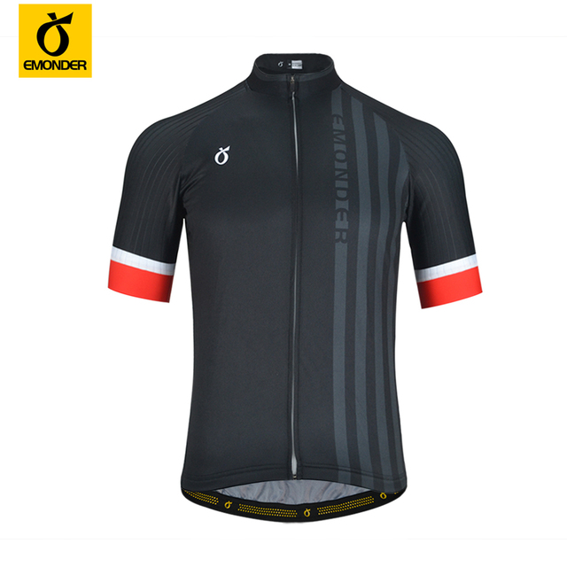 d4c0f4d22 EMONDER New Cycling Jerseys Sport Clothe Italian Cuffs Breathable  Anti-sweat Short Sleeve Male Riding MTB Bicycle Bike Clothing