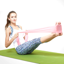 150mm Home Yoga Fitness Bands Træk Rope Sports Crossfit Resistance Bands Gummi Expander Gym Bodybuilding Stretch Training