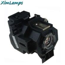Elplp42 lámpara del proyector del reemplazo con la vivienda para epson powerlite 83c 410 w 822 emp-83h emp-83 eb-410w 400we garantía de 180 días