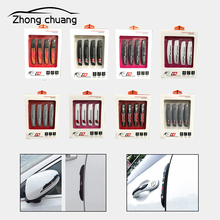 Fashion simple arrow-shaped anti-collision strips Car door edge Door anti-scratch