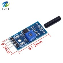 Vibration Sensor Module Vibration Switch Alarm Module SW-18010P for arduino Normally