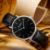 Tezer estudantes relógio de quartzo suíço marca de moda simples amantes de lona esportes relógio masculino assistir t5020