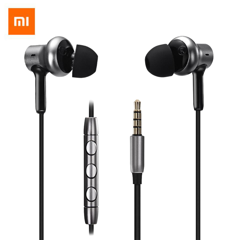 Original Xiaomi Hybrid Pro HD Earphone With Mic Remote Headset In Stock For Xiaomi Redmi Red Mi Mobile Phone In-Ear original xiaomi pro hd in ear hybrid earphones