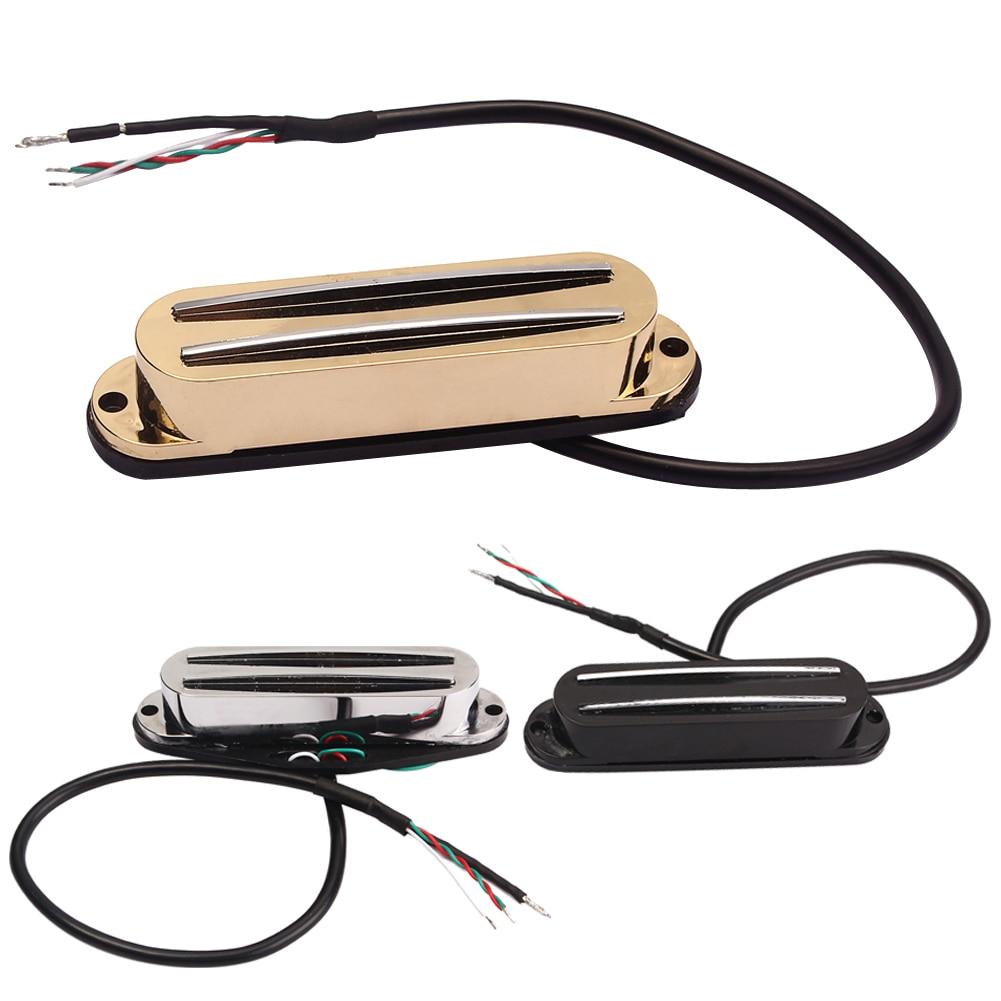 medium resolution of 2019 promotion belcat guitar hot rails pickup for st parts ferrite mini humbucker 3color free shipping