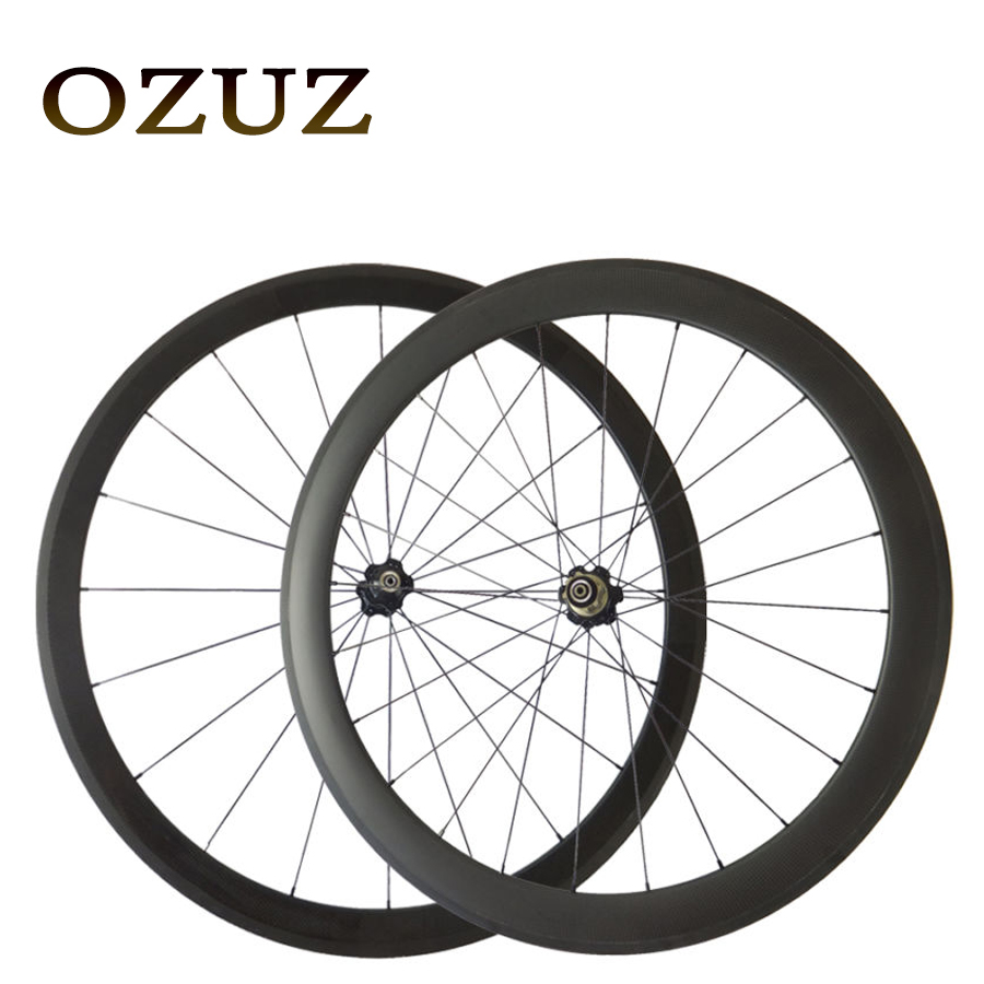 Novatec 271/372 Tubular OZUZ 700C 38+50mm 50+60mm 50+88mm 60+88mm Carbon Road Bike Bicycle Wheels Carbon Wheels Racing Wheelset