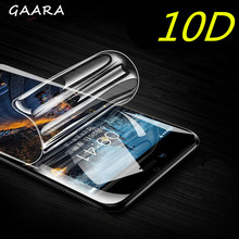 10D Full Cover Protective Film for Sony XA XA1 XA2 Ultra Plus Transparent Hydrogel Screen Protector for Sony Xperia 1 10 Plus