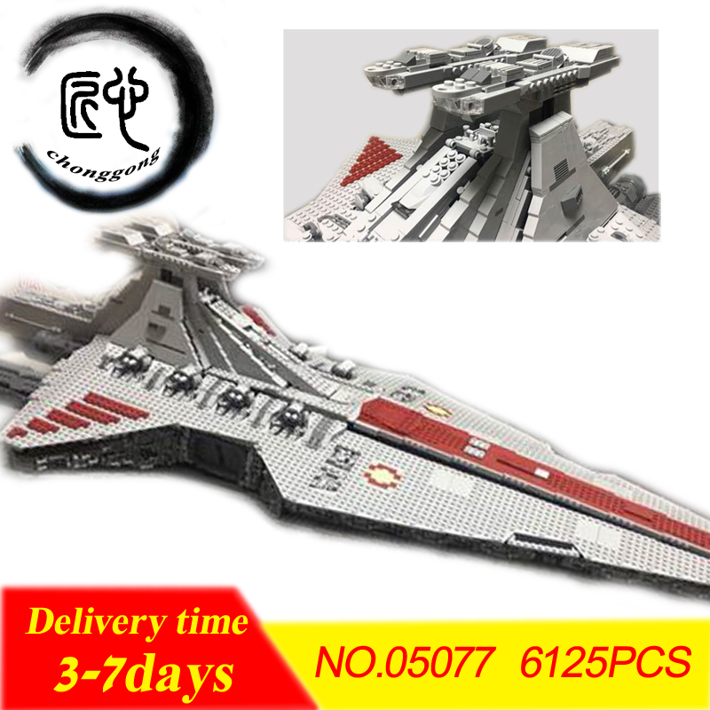 New05077 Star wars model Building Blocks Toys Attack Clones Hailfire Droid Exclusive Bricks compatiable legoes kid gift set
