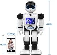 Мультифункциональный домашний охранник босс гуманоид робот, который может говорить, петь и говорить истории ~ смотреть домашний робот гово...