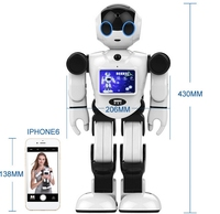 Multifunctional home guard Boss humanoid robot which can speak, sing and tell stories~ watching home robot talking robots