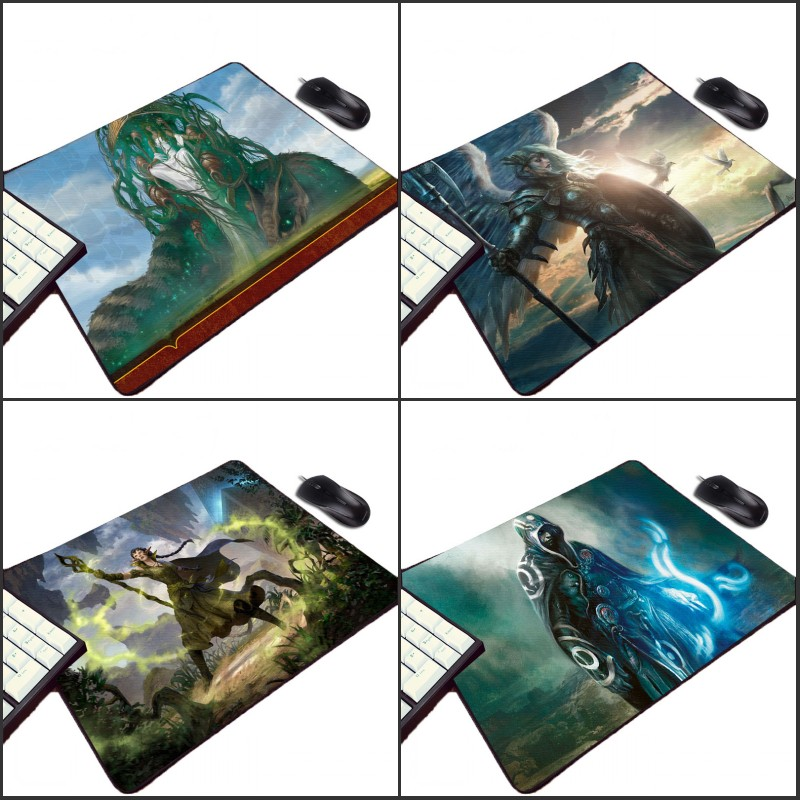 Mairuige Cool Game Pattern Mousepad Magical Gathering Video Card Gamer Gaming Rubber Pc Computer Gaming Mouse Pad For Player