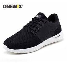 competitive price b8b22 acad8 Onemix nuove scarpe da corsa per gli uomini traspirante maglia degli uomini  di sport della scarpa