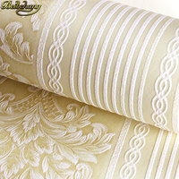 beibehang papel de parede 3d European vertical stripes Wallpaper for Bedroom Modern Design living room decoration wall paper