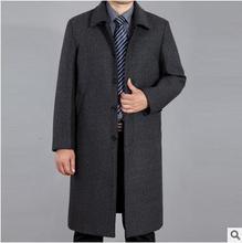 men jacket  spring jacket men  Spring new men's clothing Nick Long jacket cashmere coat coat free shipping