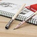 EIN djustable Einpolige Kopf Pinsel Stift Kupplung Gerät 2020 Neue Feuer Kopf Stift Halter Design Art College Wort Schreiben werkzeuge-in Schreibset aus Büro- und Schulmaterial bei