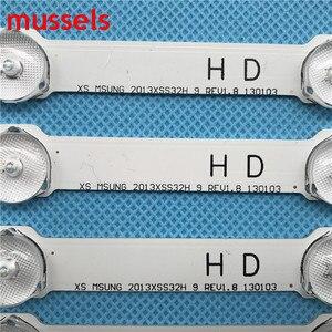 Image 2 - LED תאורה אחורית רצועת 9 מנורת עבור BN96 25300A UA32F4088AR 2013SVS32H BN96 25299A D2GE 320SC0 R3 HF320CSA B1 UA32F5500AR UA32F4000AR