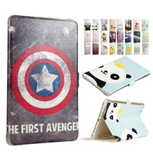 "Media Pad M3 PU Leather Case Cover 8.4"" Smart Tablet PC Fundas Colorful Print For Huawei MediaPad M3 8.4 BTV-W09 BTV-DL09 Skin"