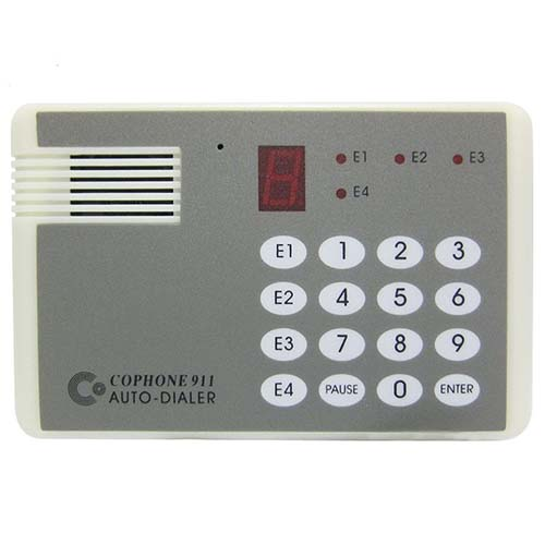 voice Dialer CO-911 automatic dialing device Trigger alarm Private telephone voice diali ...