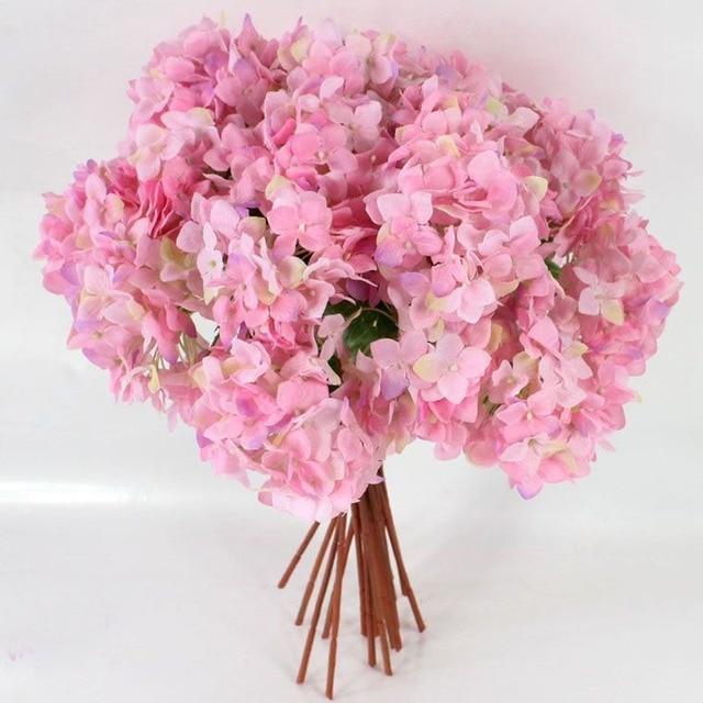 1pcs Wedding Delicate Home Decor Bouquet Artificial Hydrangea ...