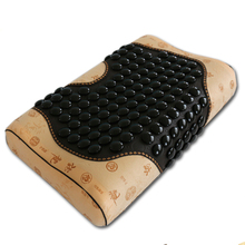 Free Shipping for Tourmaline Cushion Natural Jade Physical Therapy Pillow Yoga Cushion Health Care Jade Cushion Free Shipping