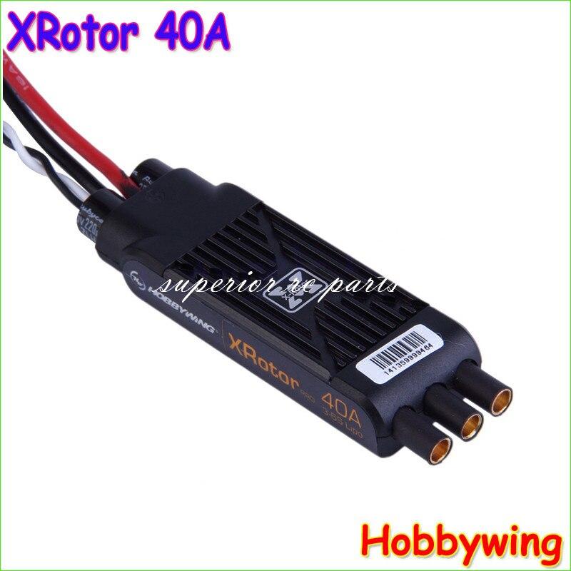 hobbywing xrotor 40a pro 3 6 s sem escova esc controle de velocidade para multirotor